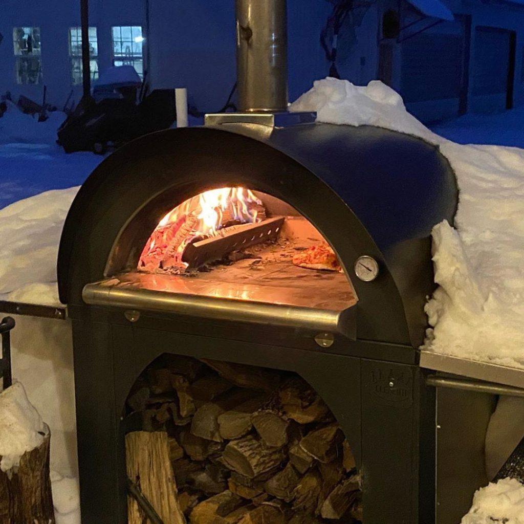 Clementi Pulcinella pizza oven