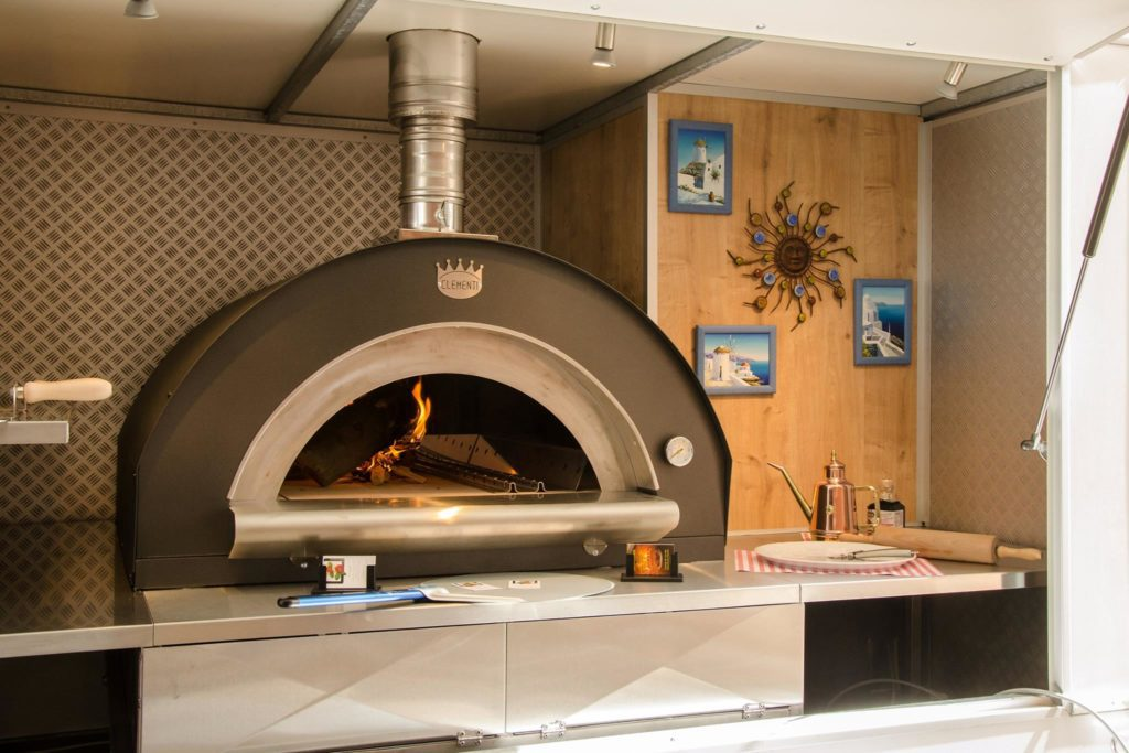 Clementi Family pizza oven 100x80